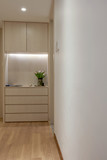 Stylish and simple home interior,