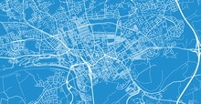 Urban Vector City Map Of Prest...