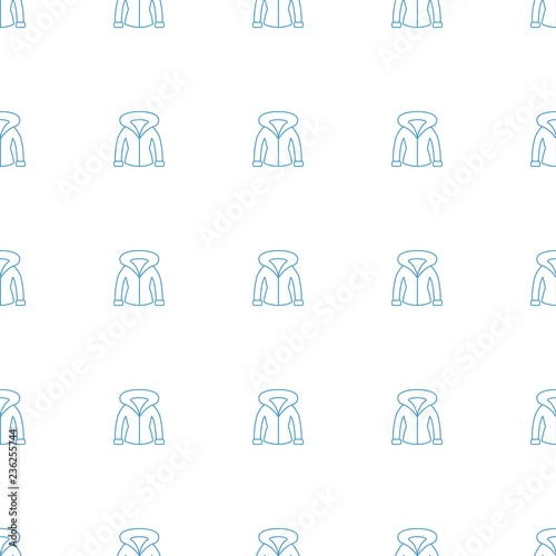Fotografie, Obraz  linear pattern repeat seamless on white background