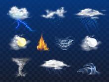 Day, Night Weather Forecast Ic...
