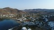 Vidéo 4K Collection Europe : Grèce | cyclades | Île de IOS | Ville de Chora vue du ciel