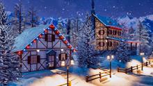 Cozy Snowbound Alpine Township...