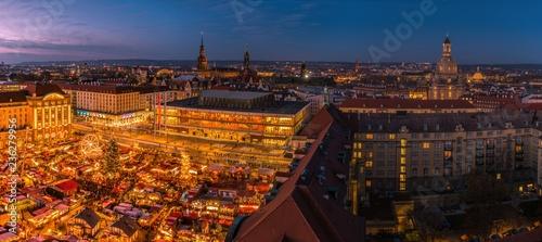 Poster Marron chocolat Striezelmarkt Dresden