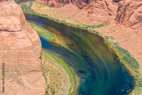 Keuken foto achterwand Verenigde Staten Grand Canyon with Colorado River - Located in Page, Arizona - Viewpoint at Horseshoe Bend - USA