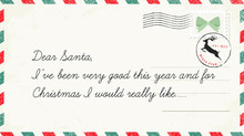 Christmas Letter To Santa Claus. Christmas Wish