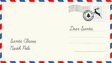 Christmas Letter To Santa Claus. Christmas Wish