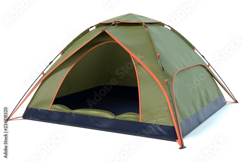 Tablou Canvas 3d illustration of a camping tent