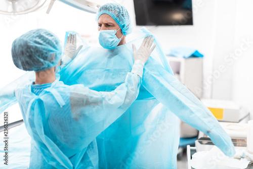 Fotografiet Medical workers