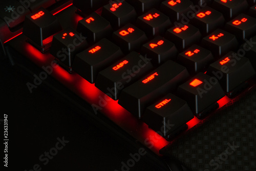 Photo  Gaming Keyboard with Lights