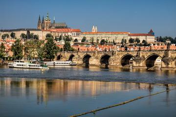 Fototapeta Prag, Moldau