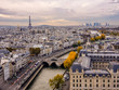 View of Paris from Notre Dame Tower