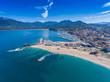 Propriano an der Westküste der Insel Korsika