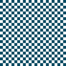 White And Blue Checkered Background