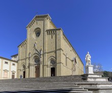 Main Entrance Of Arezzo Cathed...