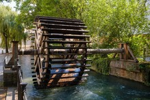 Waterwheel At Schwall-Lech, Le...