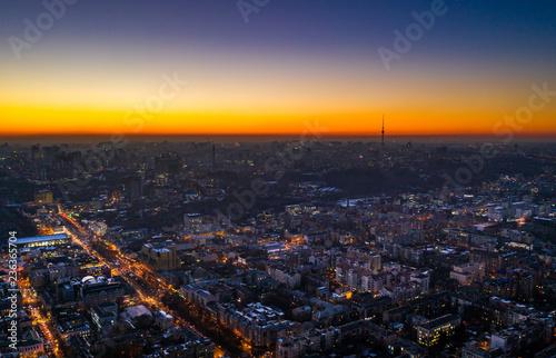 nighttime Kyiv