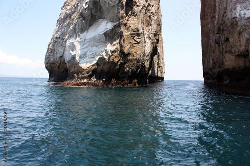 Keuken foto achterwand Zuid-Amerika land León Dormido o Kicker Rock , Isola San Cristóbal, Ecuador, dettaglio
