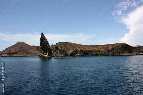 Deurstickers Zuid-Amerika land Galapagos Islands. Ecuador. Bartolome Island