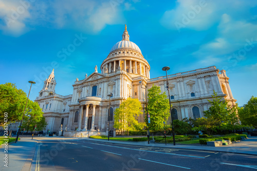 Foto  St Paul's Cathedral in London, UK