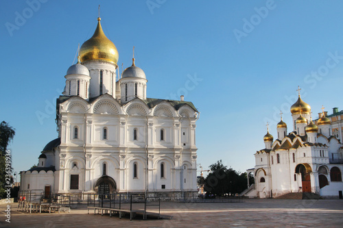 Cathedral square in Moscow Kremlin