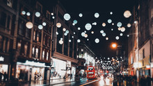 London Christmas Lights And De...