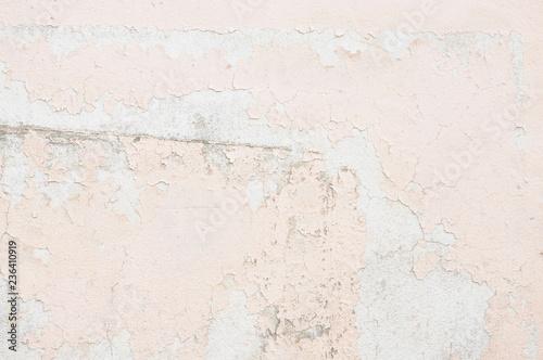 Foto auf AluDibond Alte schmutzig texturierte wand 古いピンク色の壁