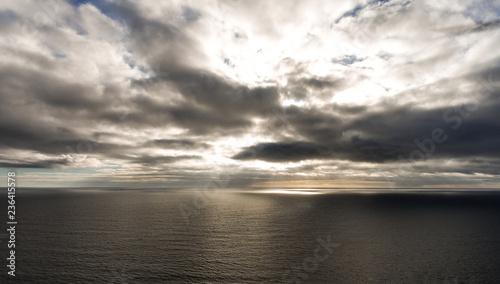 Foto op Plexiglas Grijs ocean 2