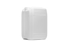 Plastikowy Pojemnik Na Białym Tle