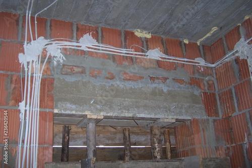Obraz Electrical wiring - fototapety do salonu
