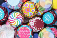 Colorful Cupcakes Paper Packag...