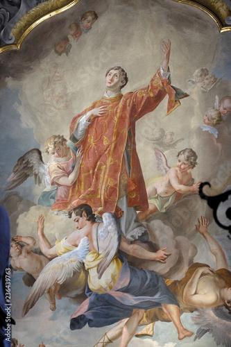 Apotheosis of St Canvas Print