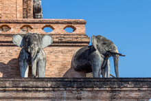 Details Of Elephant Sculptures...
