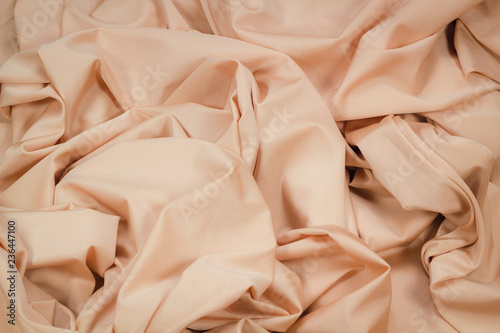 Fotografering Fabric Lycra beige flexible