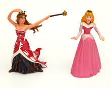 Assertive And Shy Toy Princesses