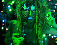 Mystic Green Dryad In UV Fluor...