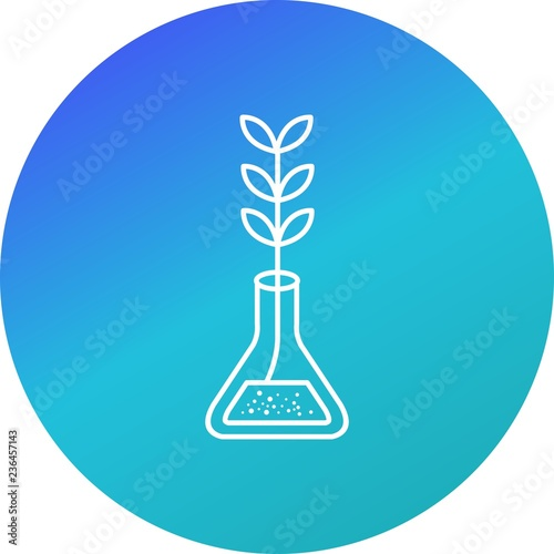 Fotografie, Obraz  Experiment Growth Vector Icon