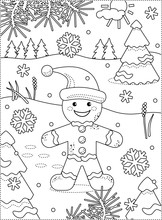 Winter Holidays Joy Themed Col...