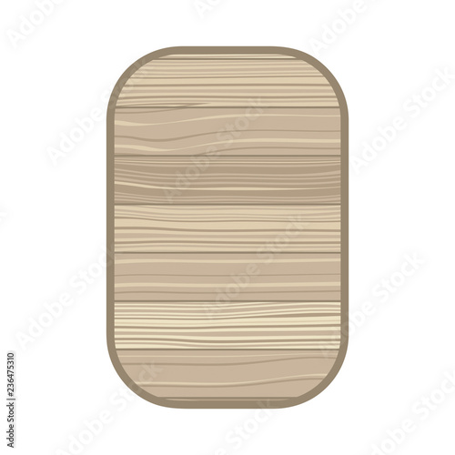Fotografie, Obraz  rectangle with wood texture isolated icon