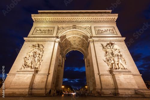 Valokuva  Arc de Triomphe in Paris