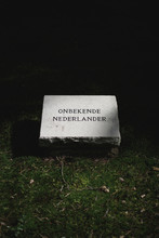 "Onbekende Nederlander"""" ( """"Unknown Dutchman"""")"