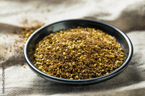 Photo  Raw Organic MIddle Eastern Zaatar Spices