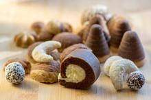 Various Kinds Of Christmas Cookies, Cocoa Wasp Nests, Coconut Balls, Sweet Vanilla Rolls, Cinnamon Sandbakelse Sweets