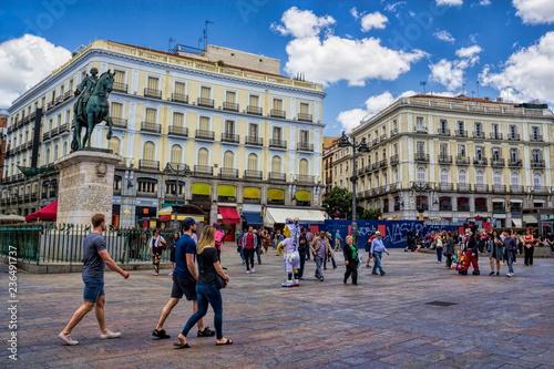 Fototapeta premium Madryt, Puerta del Sol