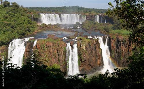 Poster Afrique du Sud Iguazú-Wasserfälle