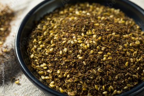 Photo  Raw Organic MIddle Eastern Zaatar Spices