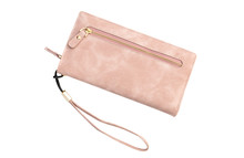 Woman's Purse On White Backgro...