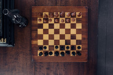 Chessboard From Overhead