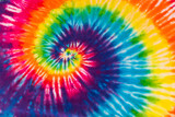 Fototapeta Tęcza - Colorful Tie Dye Designs Patterns