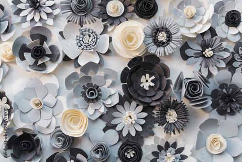 Paper flower pattern - 236526510