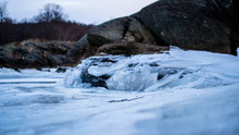 Ice Frozen River